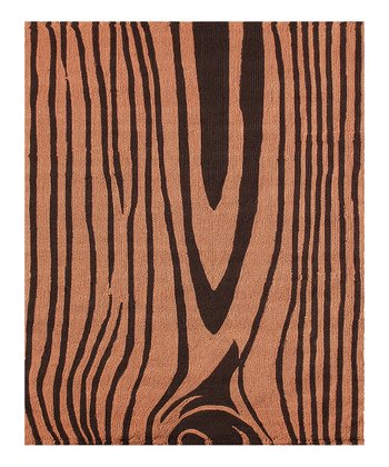 Rust & Black Woodley Rug