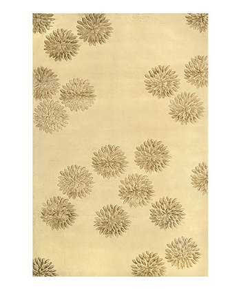 Cream & Gold Charlotte Wool Rug