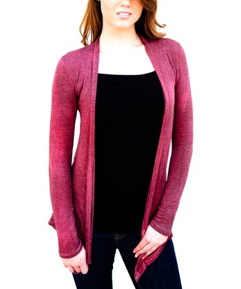 Crimson Oklahoma Open Cardigan - Women