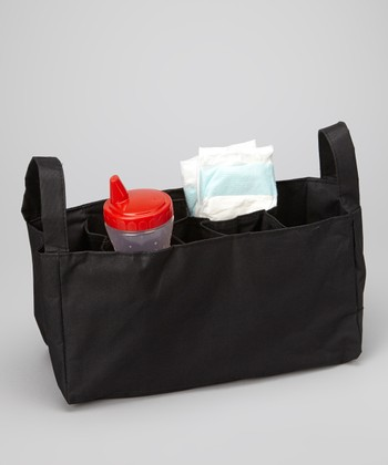 Black Diaper Bag Organizer