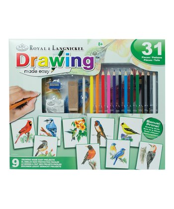 Drawing Made Easy 31-Piece Set