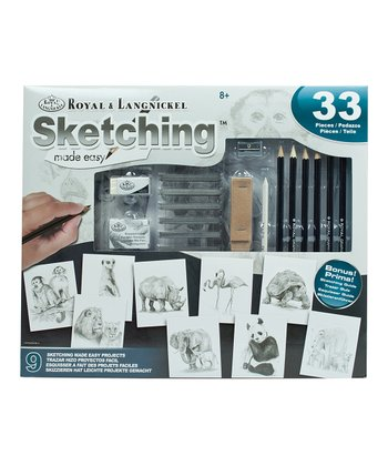 Sketching Made Easy 33-Piece Set