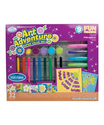Girls Art Adventure Paint/Marker Set