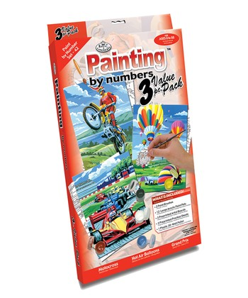 Adventure Paint by Number Set