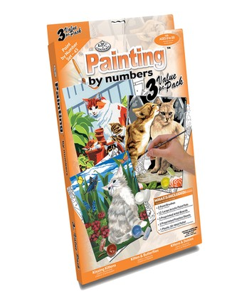 Small Cats Paint by Number Set