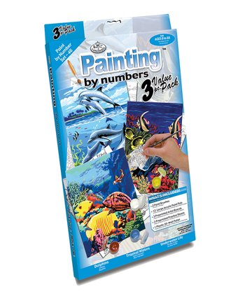 Sea Life Paint by Number Set