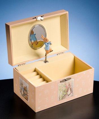 Peter Rabbit Hinged Trinket Box