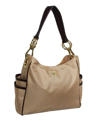Almond Lisa Satchel