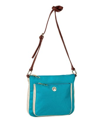 Aquamarine Kylie Crossbody Bag