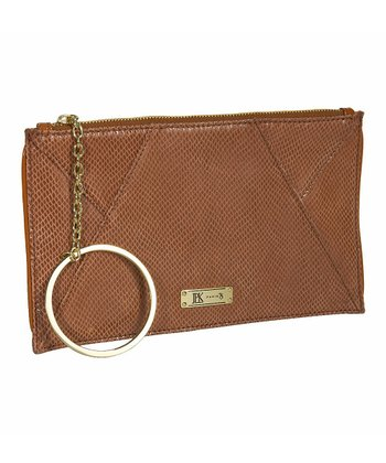 Wheat Adele Mini Snake Clutch