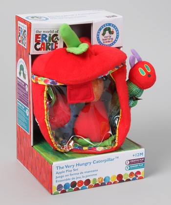 The Very Hungry Caterpillar Apple Play Set