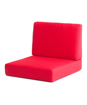 Red Cosmopolitan Arm Chair Cushion