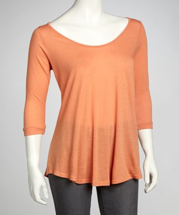 Orange Swing Top