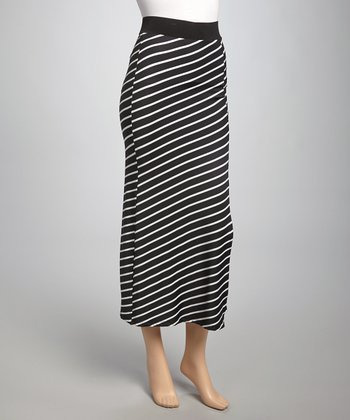 Black & White Valeria Maxi Skirt