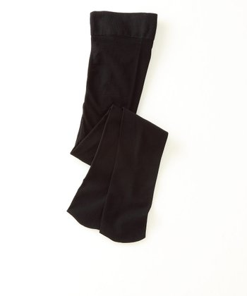 Black Footed Tights - Toddler & Girls