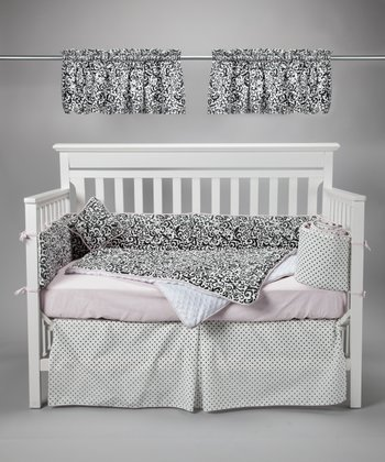 Dinner Party At 3 A.M. Crib Bedding Set