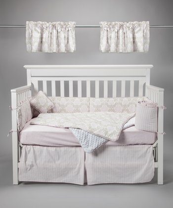 Pretty in Pink Crib Bedding Set