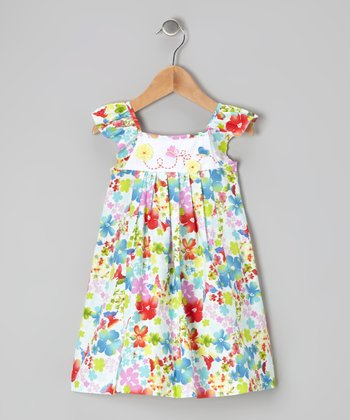 Rainbow Garden Dress - Infant & Toddler
