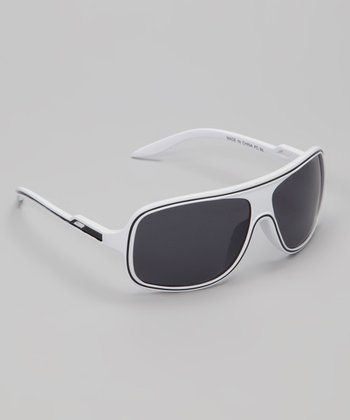 White & Black Sunray Sunglasses