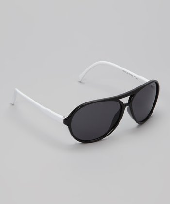 Black Chill Pilot Sunglasses