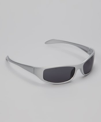 Silver Metallic Max Sunglasses