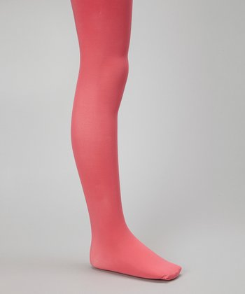 Paradise Pink Microfiber Tights - Girls