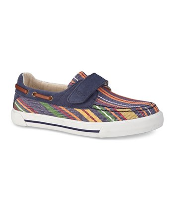 Moroccan Stripe Halfhitch Boat Shoe