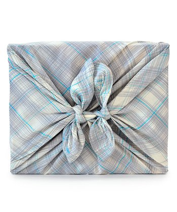 Plaid Give Harmony Organic Reusable Gift Wrap