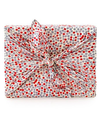 Red Give Harmony Organic Reusable Gift Wrap