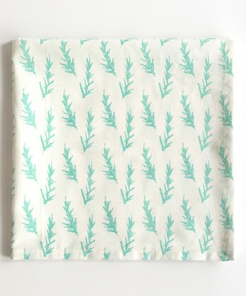 Blue Rosemary Napkin - Set of Four