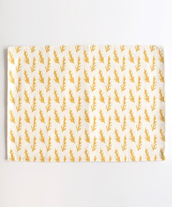 Mustard Rosemary Place Mat - Set of Four