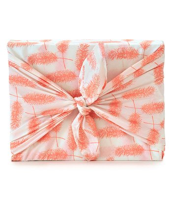 Pink Give Wisdom Organic Reusable Gift Wrap