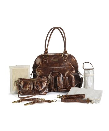 Brown Marilyn Diaper Bag