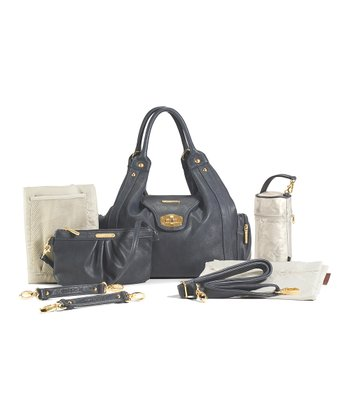 Dusk Navy Annette Diaper Bag