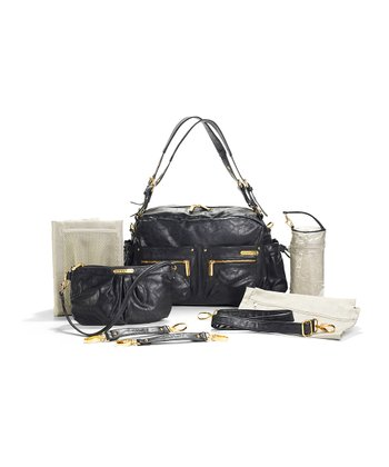 Black Jessica Diaper Bag