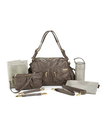 Taupe Jessica Diaper Bag