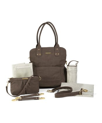 Mushroom Brown Hayley Diaper Bag