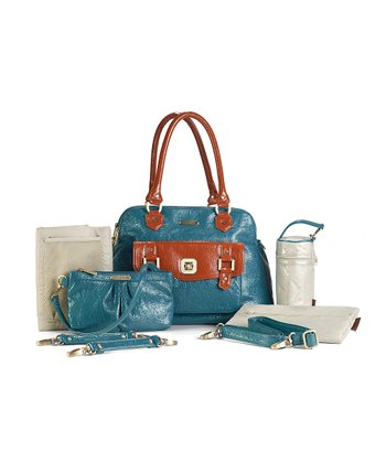 Blue Rust Sophia Diaper Bag