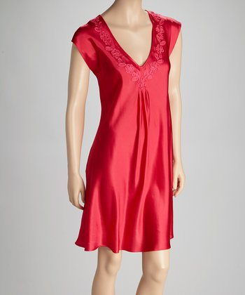 Raspberry Nightgown - Women & Plus
