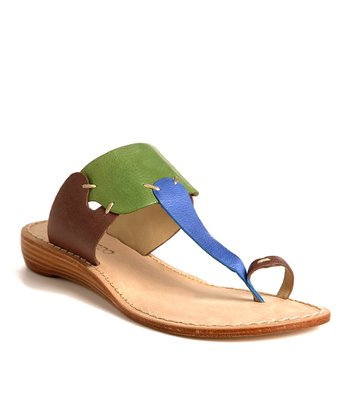 Green & Brown Divine Sandal