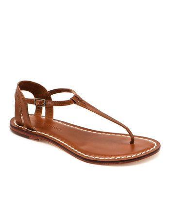 Luggage Leather Madonna Sandal