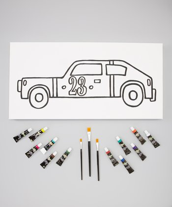 Racecar Canvas Template Set