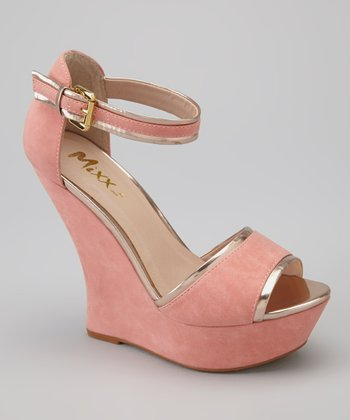 Coral Angel Wedge