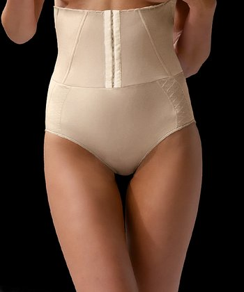 Nude Shaper Hook & Eye High-Waisted Brief - Women & Plus
