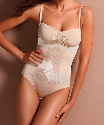 Nude Chic Lace Shaper Bodysuit - Women & Plus