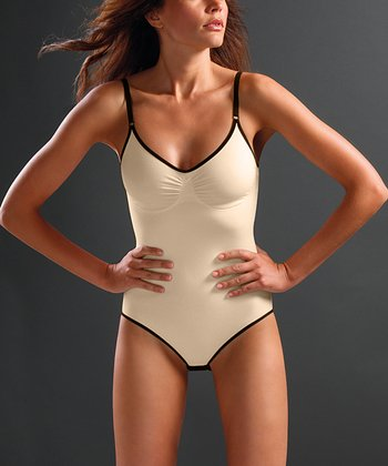 Nude Cotton Shaper Bodysuit - Women & Plus