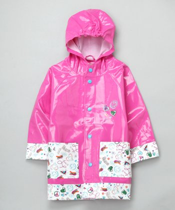Pink Homeroom Raincoat - Toddler & Kids