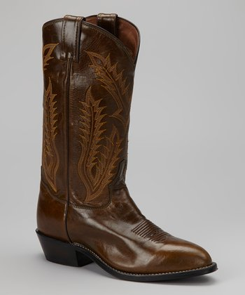 Khaki Promo Vegas Cowboy Boot - Men