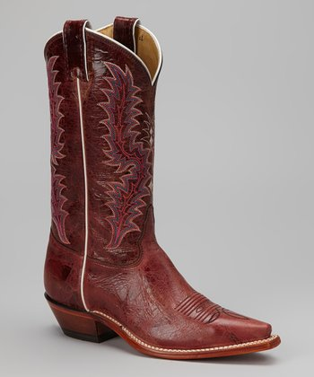 Glazed Red Puma Cowboy Boot - Women