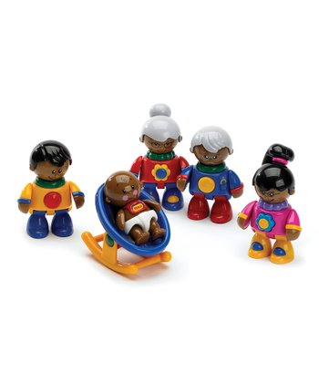 First Friends African-American Family Set